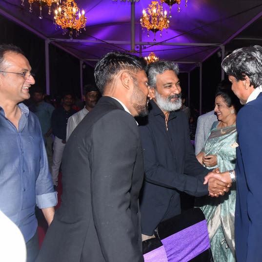 Rajamouli meets Kapil Ji