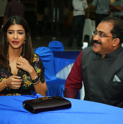 Ms. Lakshmi Manchu joined in our evening celebrations