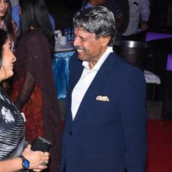 Ramya Krishnan meets Mr. Kapil Dev