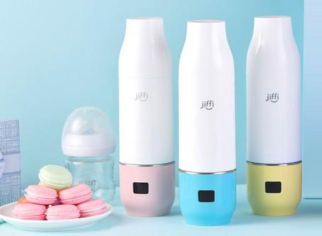 Full Article: Warm milk in a Jiffi portable bottle warmer