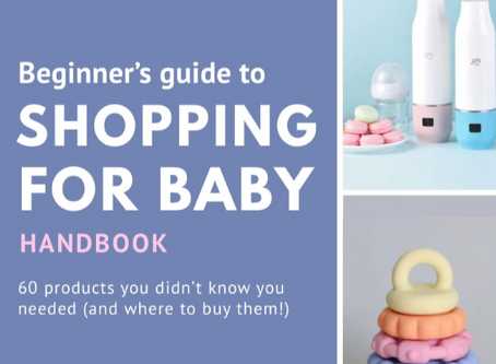 Beginner's Guide to Shopping for Baby