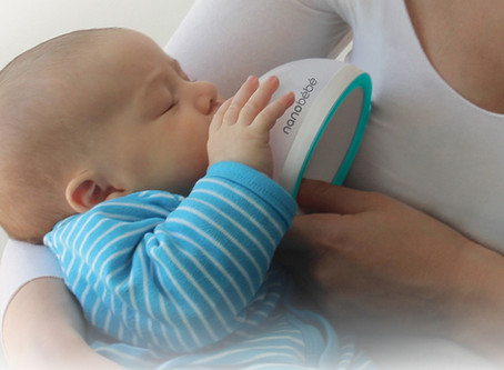 Feeding reinvented: Meet the genius new baby bottle that imitates mum's breast