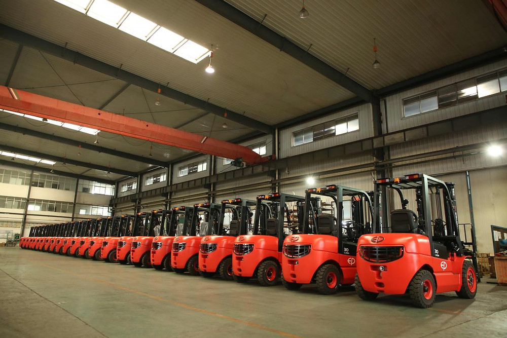 Lithium Ion Battery Electric Forklift