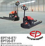 EPT20-ET 2 Ton full electric pallet truck singapore