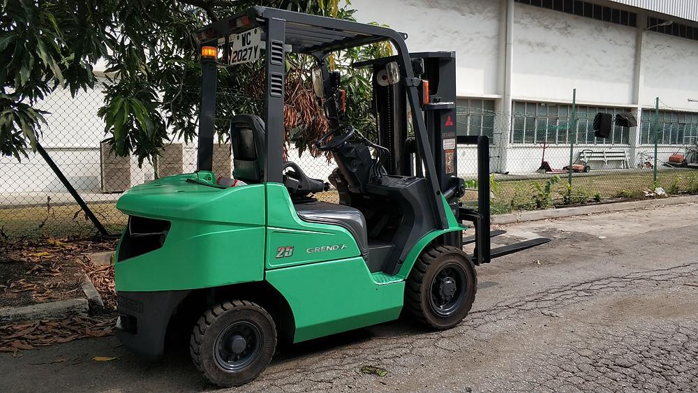 Diesel forklift Singapore