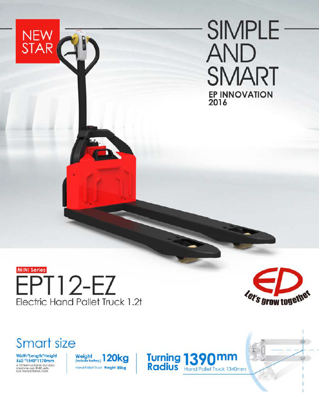 1.2 Ton Full Electric Pallet Truck
