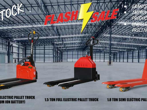 4 REASONS TO PURCHASE AN ELECTRIC PALLET JACK (SINGAPORE)