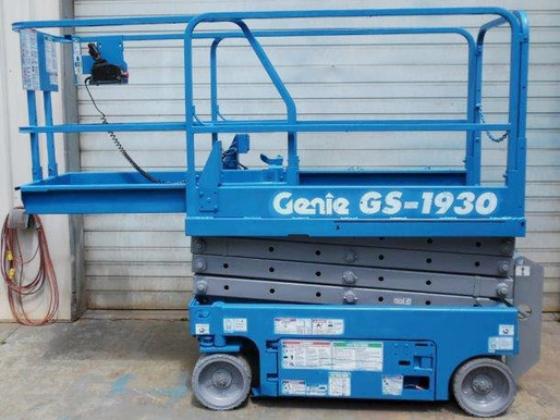 MEWP (Scissors lift / Boom Lifts) Safety