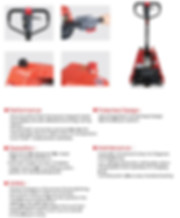 singapore semi electric pallet truck