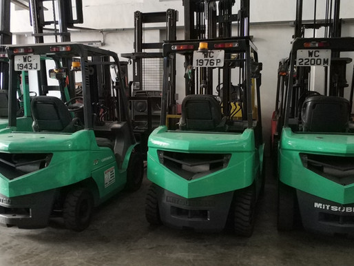 Different Forklift Types In Singapore