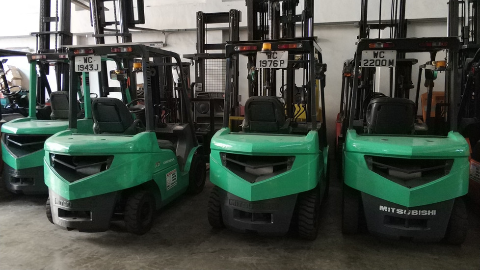 used forklift singapore
