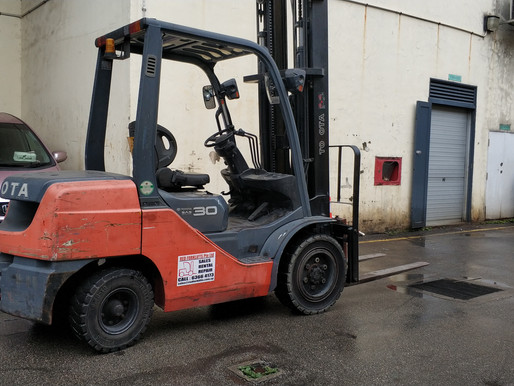 The effect of forklift repair could have on your operation?