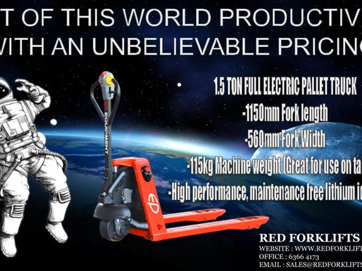 Productivity Solutions Grant for Electric Pallet Truck
