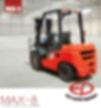 EP T8 series forklift 2.5 ton 3 ton 4 ton 4.5 ton 5 ton