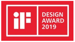 EP EQUIPMENT WINS THE IF DESIGN AWARD 2019
