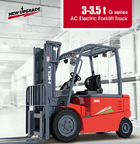 Heli G series electric forklifts