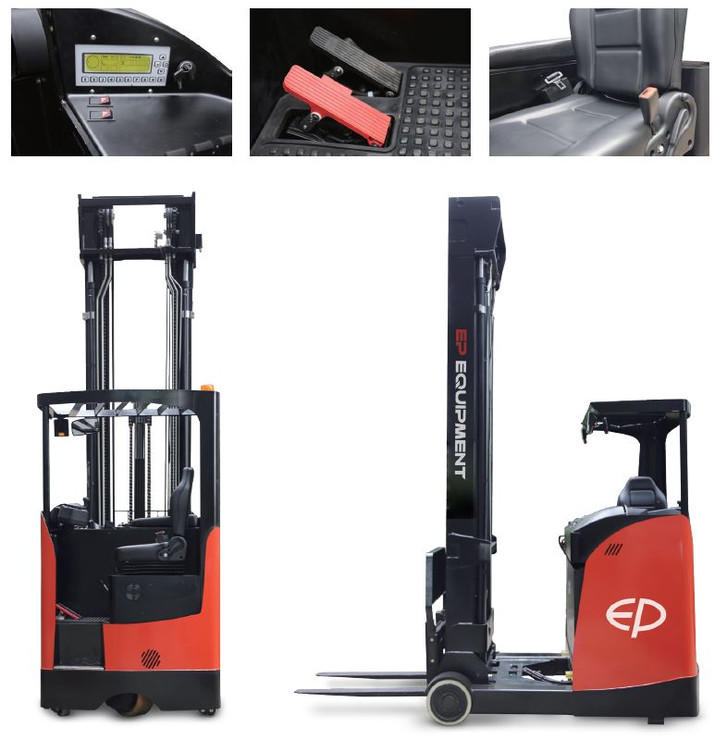 EP sit down reach truck
