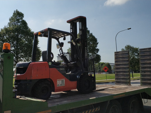 Why Rent Forklift In Singapore ?