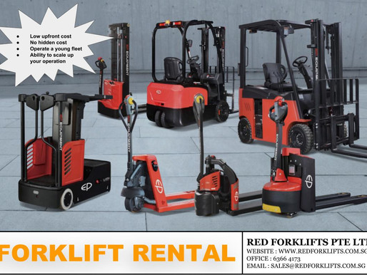 Why should you consider Forklift Rental In Singapore