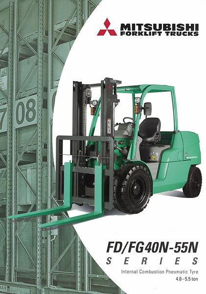 Mitsubishi Forklift - Heli H series forklift