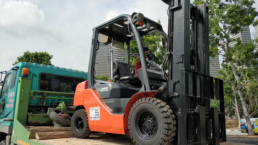 Forklift Rental In Singapore