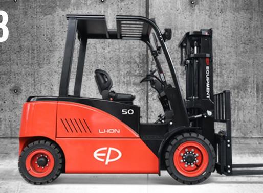 EP 4.5 / 5 Ton Lithium Ion Electric Forklift Singapore