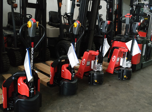 TIPS TO GET THE MOST OUT OF YOUR EP ELECTRIC PALLET TRUCK