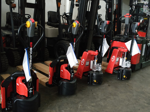 EIGHT TOP TIPS TO GET THE MOST OUT OF YOUR EP ELECTRIC PALLET TRUCK