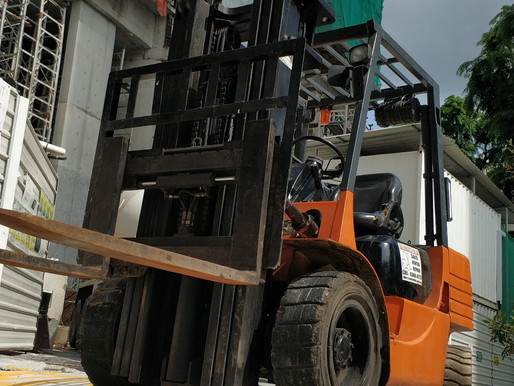 Different types of forklifts in Singapore