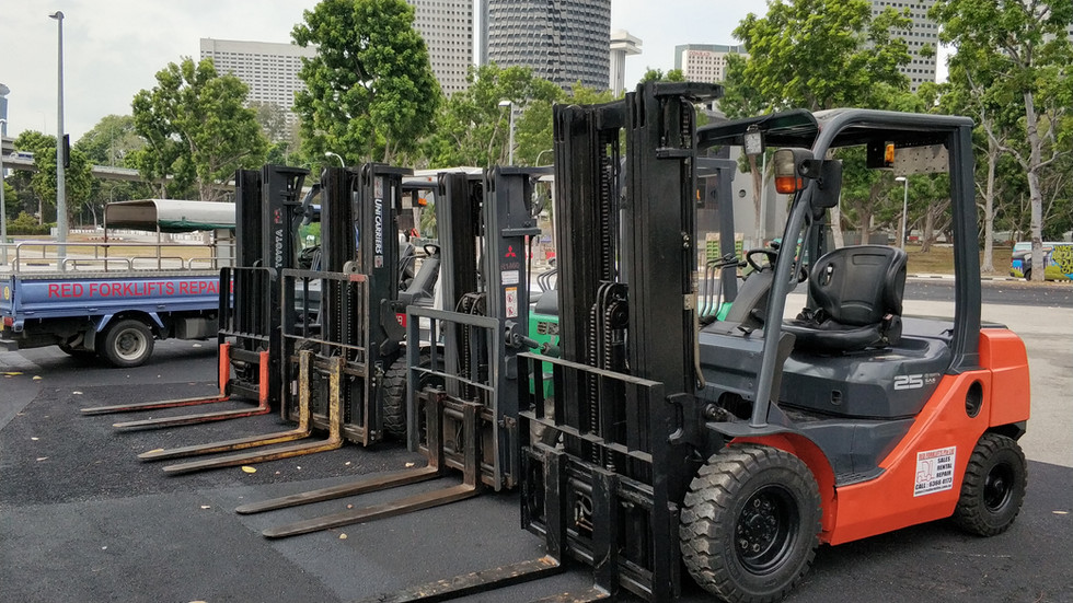 Best forklift rental in singapore