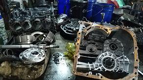 sigapore forklift gear box repair