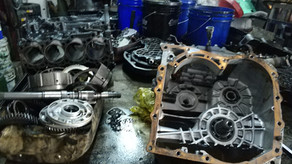 sigapore forklift gear box repair