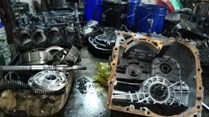 forklift gear box repair