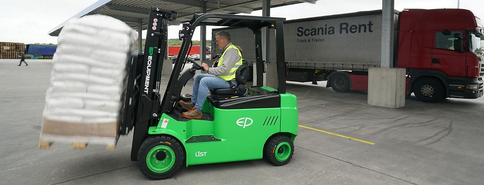 EP Lithium Ion Forklift