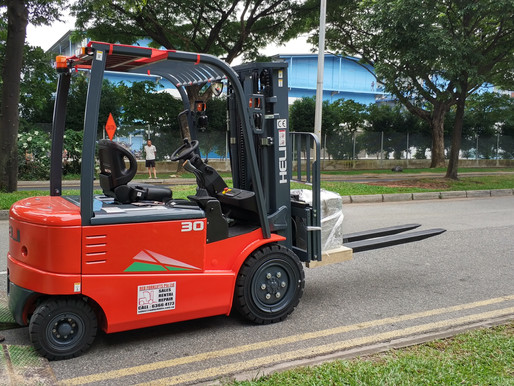 Electric Forklift, the way forward in view of the new diesel tax in Singapore