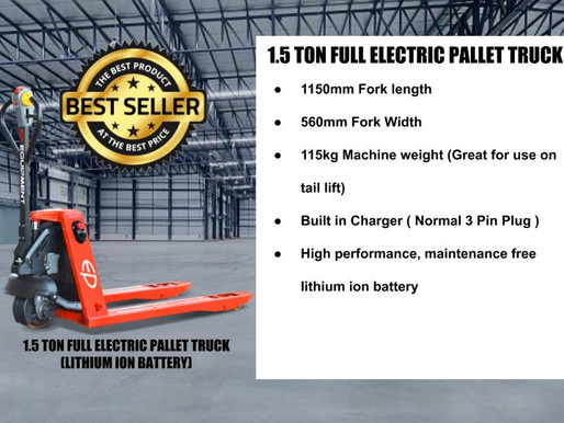 Buying Electric Pallet Truck/Jack In Singapore