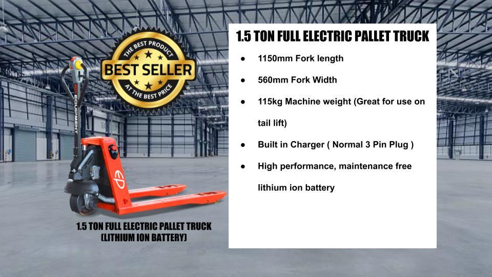 Electric Pallet Truck/Jack Singapore