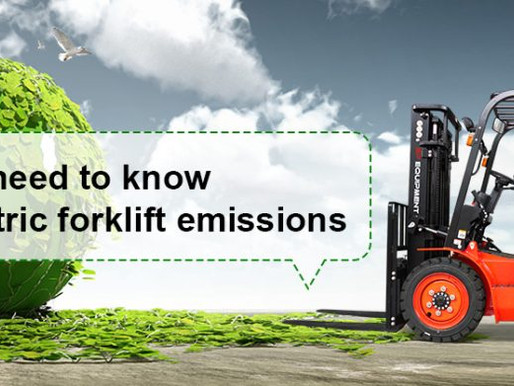 WHAT YOU NEED TO KNOW ABOUT ELECTRIC FORKLIFT EMISSIONS