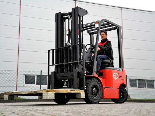 EP EFL 181, 1.8 Ton Lithium Ion Forklift Test