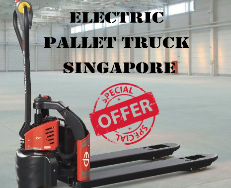 BUY ELECTRIC PALLET TRUCKS IN SINGAPORE FROM RED FORKLIFTS PTE LTD