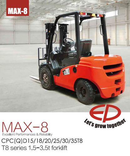 EP T8 Diesel Forklift