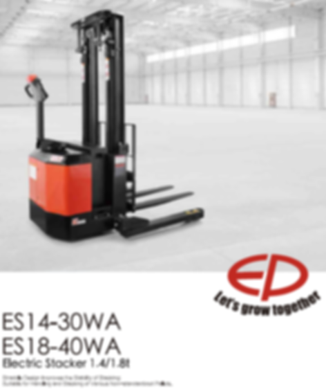 electric ride on pallet truck