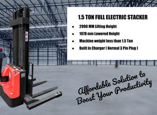 ELECTRIC PALLET STACKERS SINGAPORE