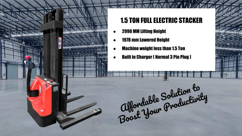 ELECTRIC STACKER SINGAPORE