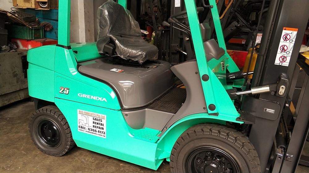 Mitsubishi Forklift Singapore