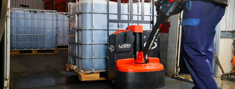 Electric hand pallet truck singapore