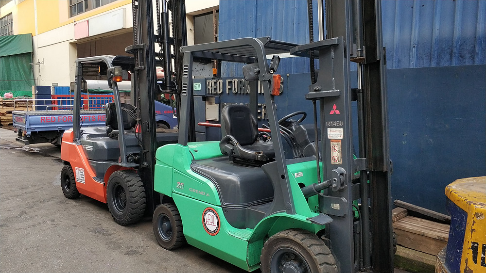 Forklift tires singapore