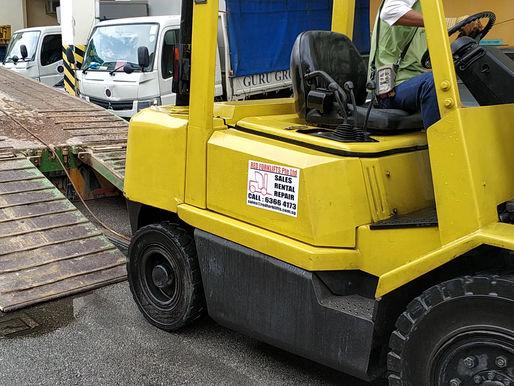 Best Diesel Forklift Rental In Singapore