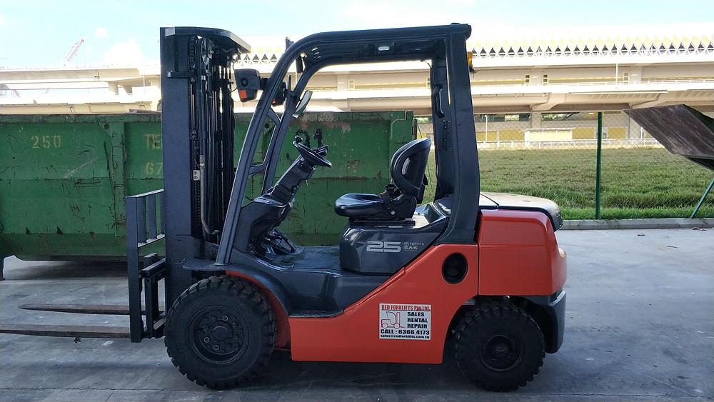 3 Ton Diesel Forklift Rental Singapore