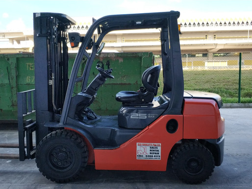 Forklift Solutions In Singapore